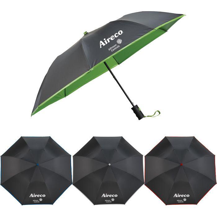 "42"" Auto Open Folding Color Splash Umbrella"