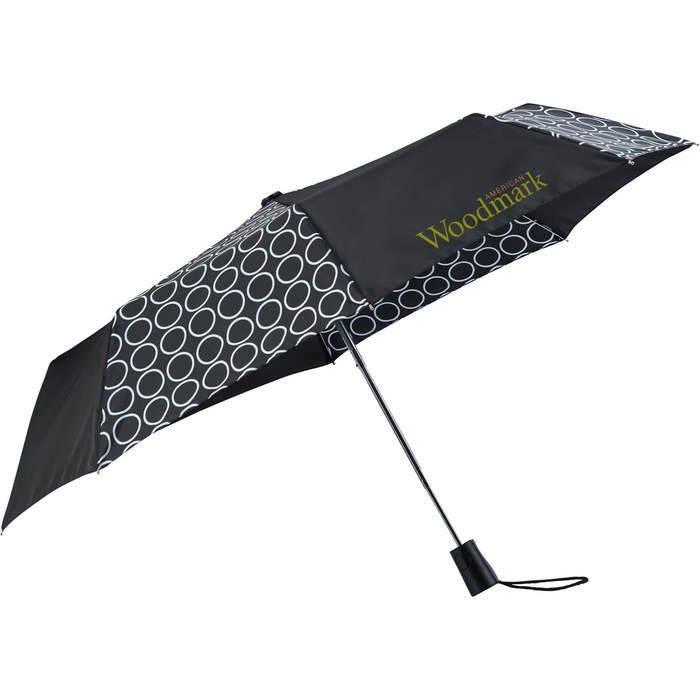 Pongee 42 Inch totes 3 Section Auto Open Umbrella