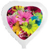 18'' Heart Shaped Mylar Balloons