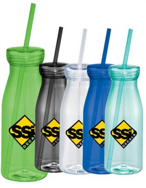 Yolo 18-oz. Tumbler with Straw