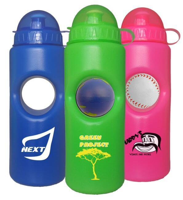 Stress Ball Water Bottles