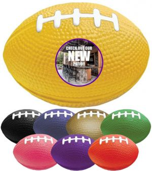 Custom Football Stress Ball - 3.5 Inches