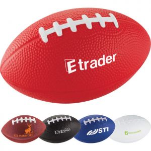 Custom Football Stress Reliever - 5 Inches