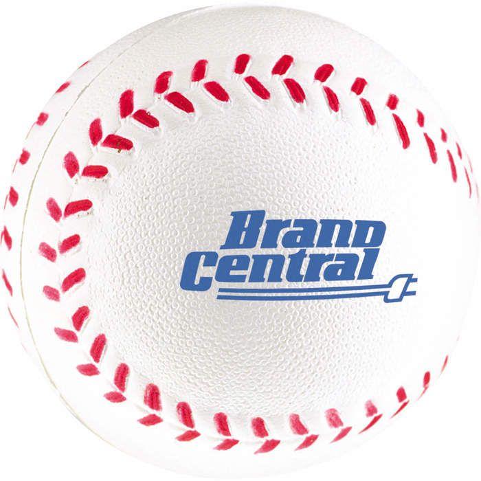 Custom Baseball Stress Reliever