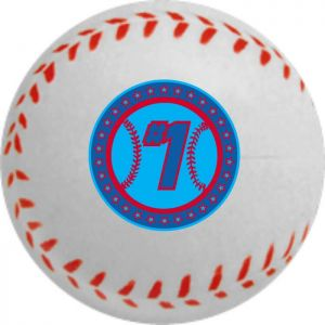 Custom Baseball Stress Ball - 2.5 Inches