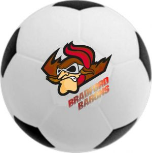 Promotional Soccer Ball Stress Ball - 2.5 Inches