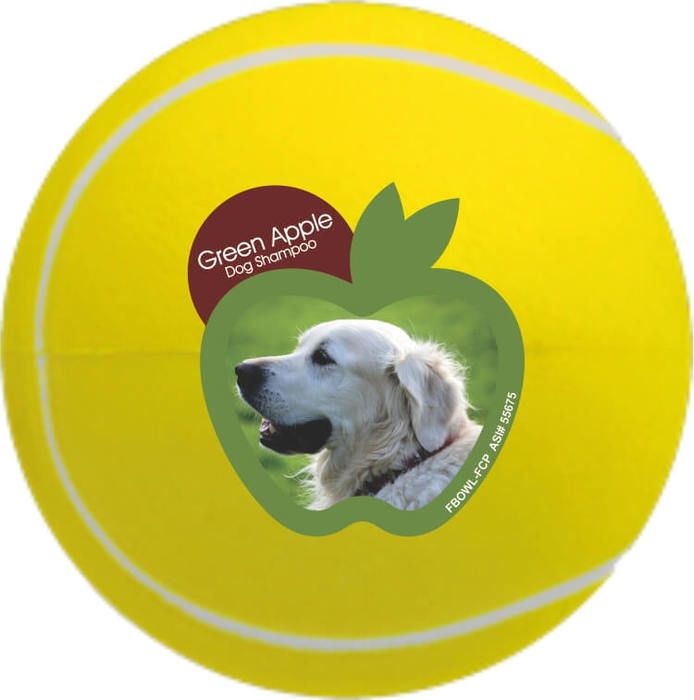 Promotional Tennis Ball Stress Ball - 2.5 inches