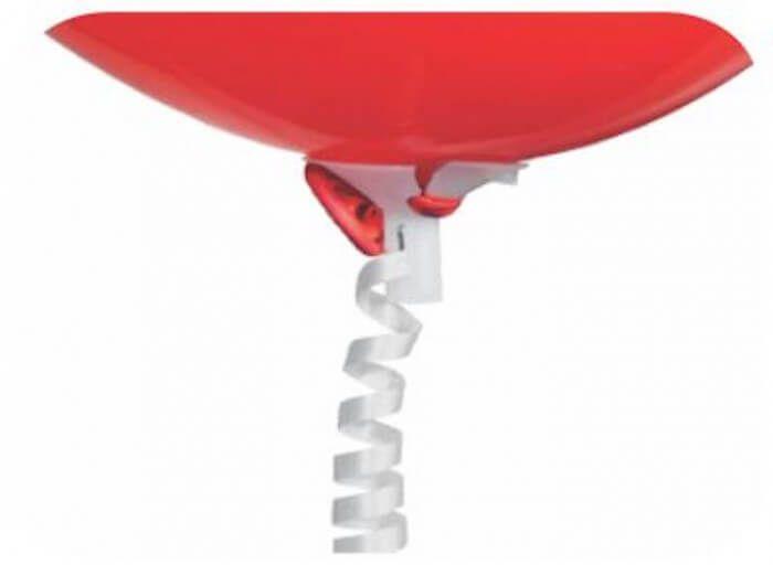 E-Z Balloon Ties with White Ribbon