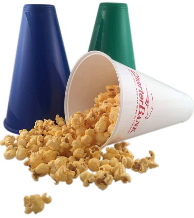 Custom Printed Popcorn Megaphones