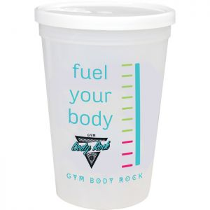 16-oz. Shaker Stadium Cup with Lid