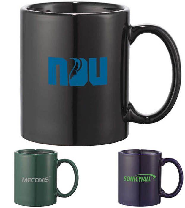 Bounty 11 oz Colored Ceramic Mug