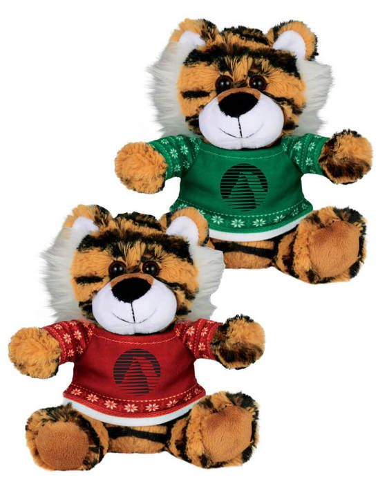 """Ugly Sweater 6"""" Tiger"""