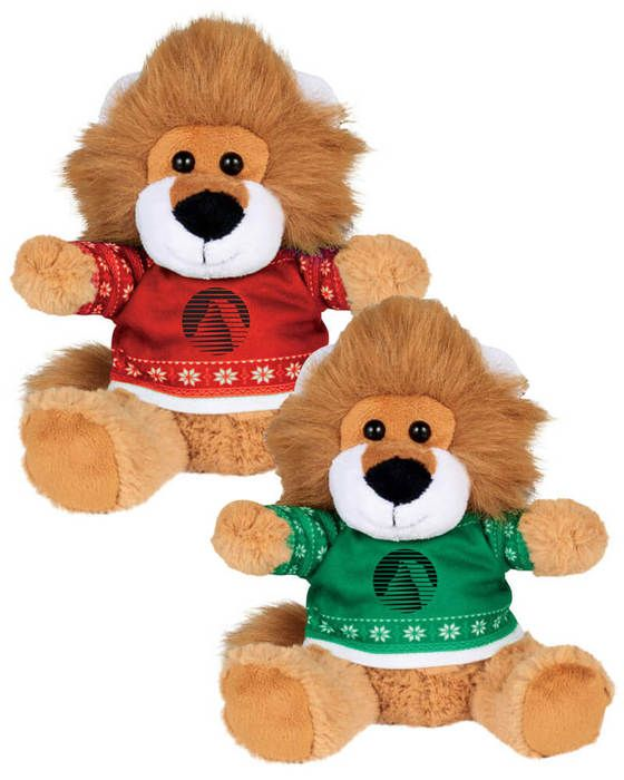 """Ugly Sweater 6"""" Lion"""