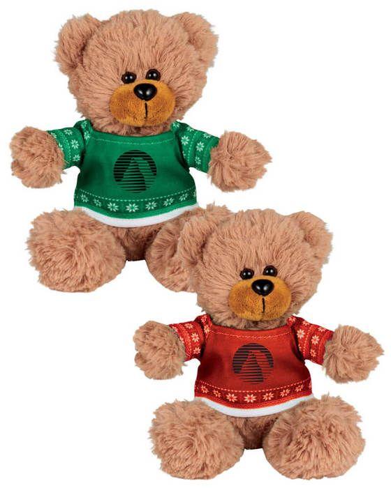"Ugly Sweater 6"" Sitting Bear"