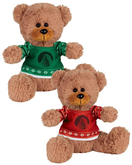 "Ugly Sweater 8"" Sitting Bear"
