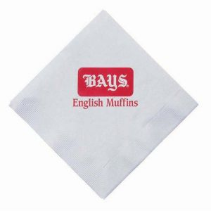 3-Ply Square White Dinner Napkins