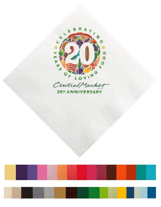 3-Ply High Qty Beverage Napkins