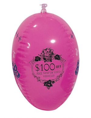 Pink Inflatable Easter Egg
