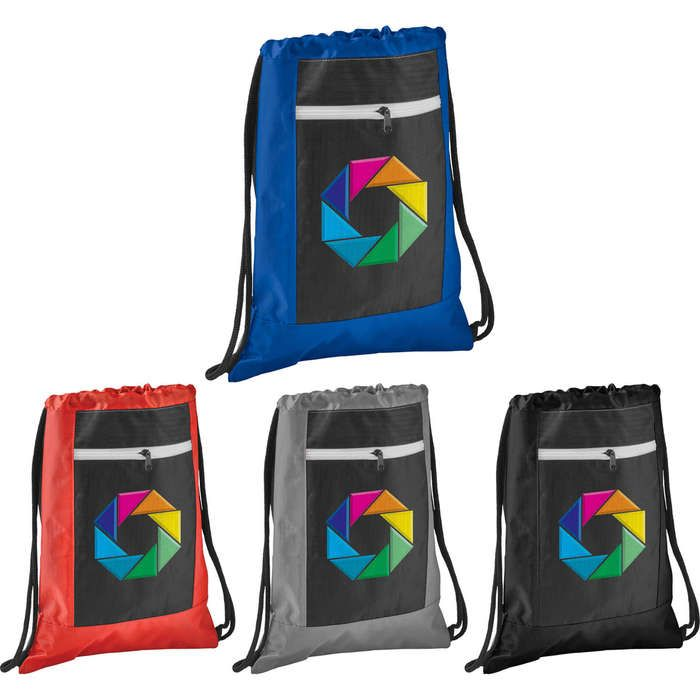 Zippered Ripstop Drawstring Sportspack
