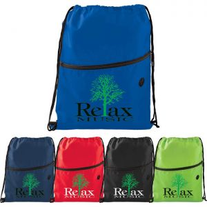 Insulated Zippered Drawstring Sportspack