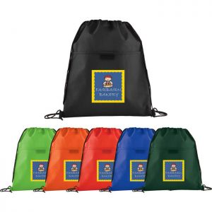 Insulated Non-Woven Drawstring Sportpack