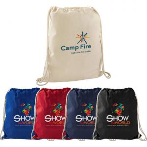 Large Cotton Drawstring Sportspack