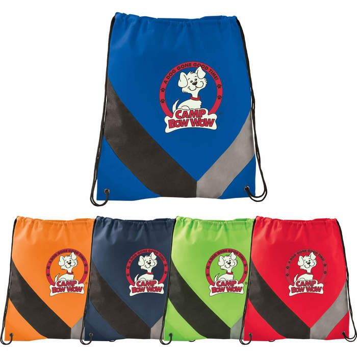 Non-Woven Slant Drawstring Sportspack