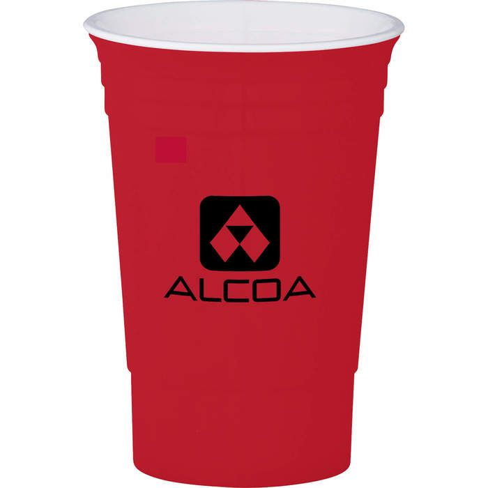 16 oz Party Cup - Red