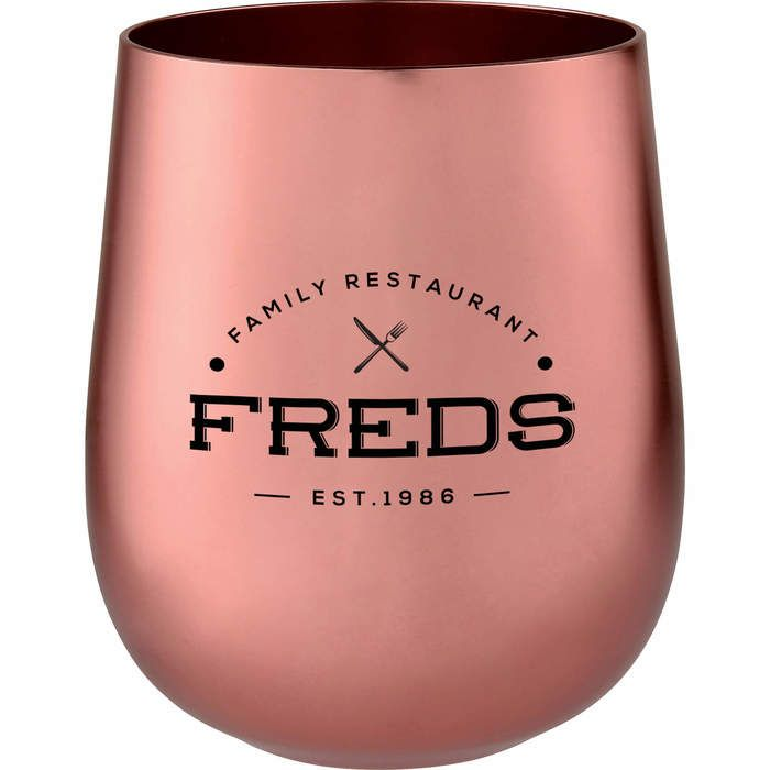Copper 14 oz Stemless Tumbler