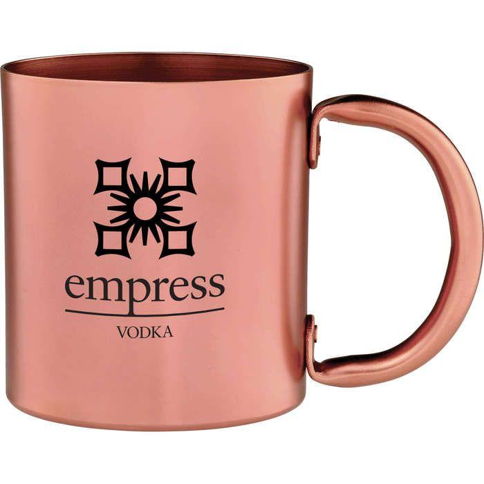 Copper 14 oz Retro Mug