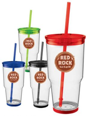 Biggie 24oz Tumbler with Straw