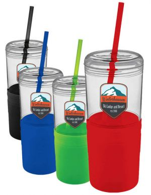 22oz Tumbler with Straw