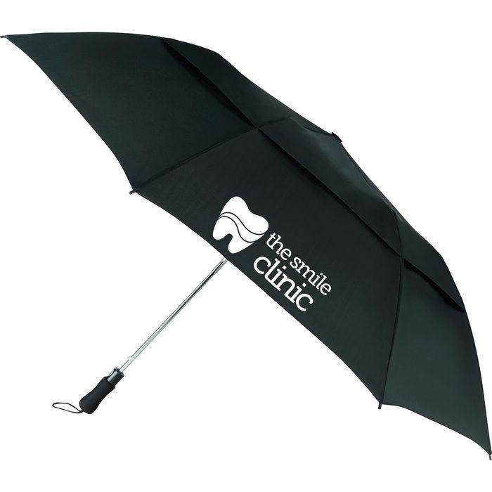 "55"" Vented, Folding Golf Umbrella"