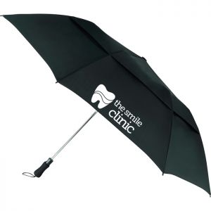"55"" Vented, Folding Golf Umbrella"