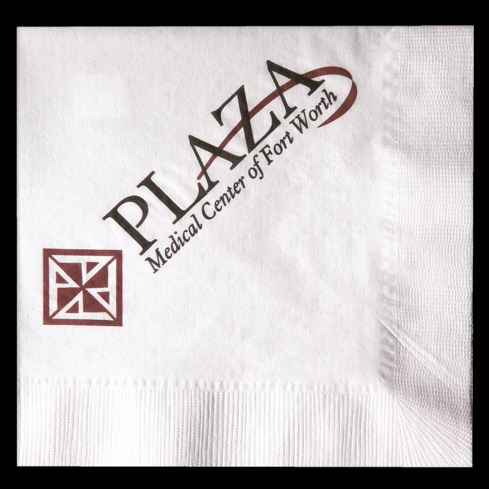 White 1-Ply Luncheon Napkins