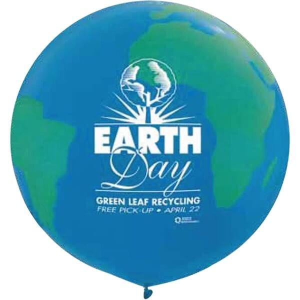 "36"" Custom Globe Balloons"