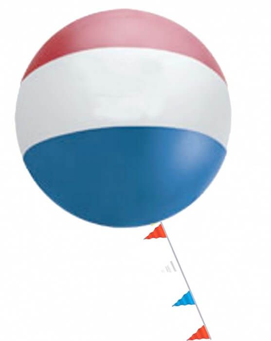 5.5 ft Cloudbuster Tri-Color Outdoor Balloons w/ Kit