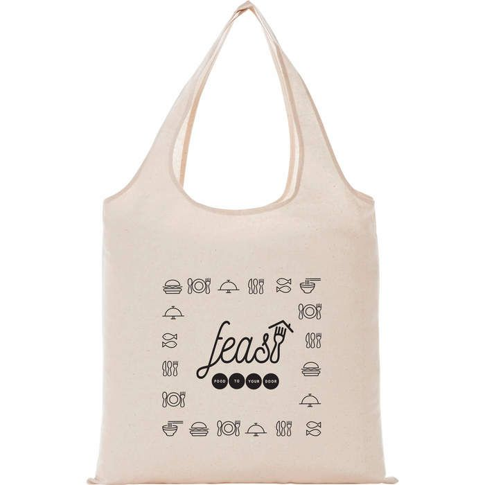 5 oz Cotton Canvas Grocery Tote