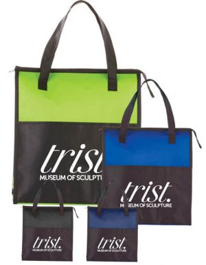 Matte Laminated Insulated Tote
