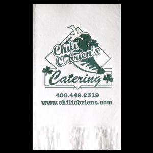 2-Ply White Budget Dinner Napkins - Low Quantity