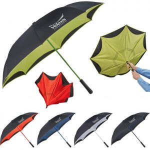 "46"" Colorized Manual Inversion Umbrella"