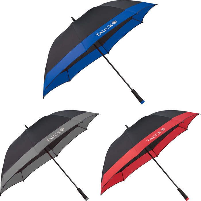 60 Manual Full Fiberglass Windproof Golf Umbrella