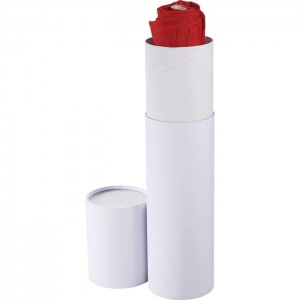"Umbrella Gift Box Cylinder- Small (12.5"" H X 3"" W X 3"" D)"