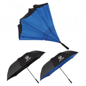 "58"" Inversion Manual Golf Umbrella"