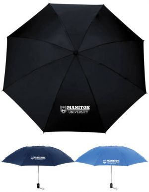 "46"" 3-Section, Folding Inversion Umbrella"