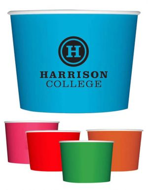 12oz Colored Dessert/Soup Cups