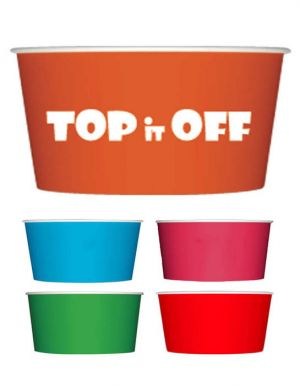 4oz Colored Dessert/Soup Cups