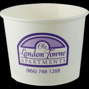 16oz White Hot/Cold Dessert/Soup Bowls