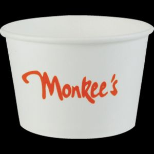 8oz White Hot/Cold Dessert/Soup Cups