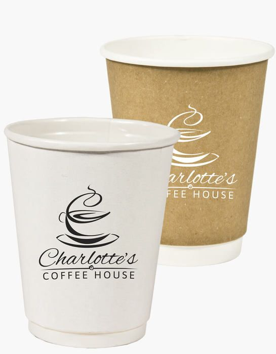8oz Double Wall Insulated Paper Cup